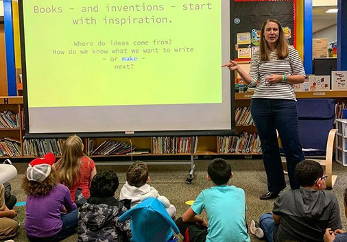 Fantastic author visit to #williampennelementary