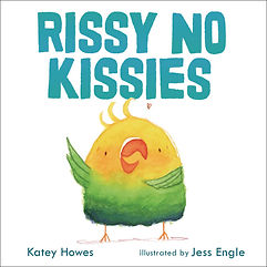 Rissy No Kissies book cover