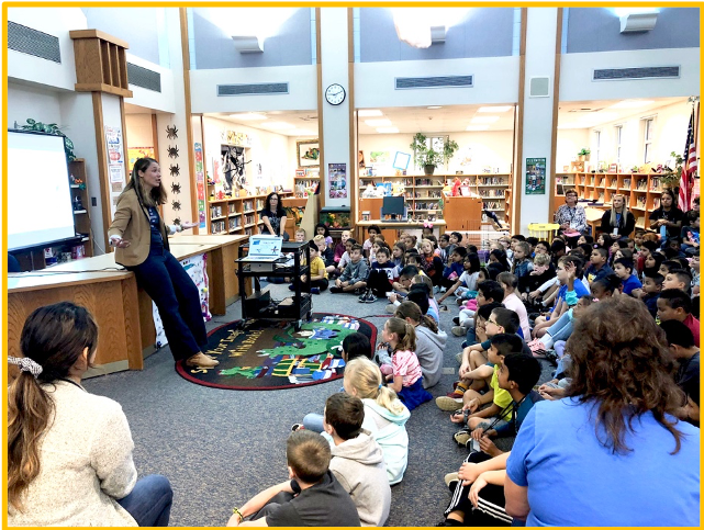 school visit in Naperville, IL