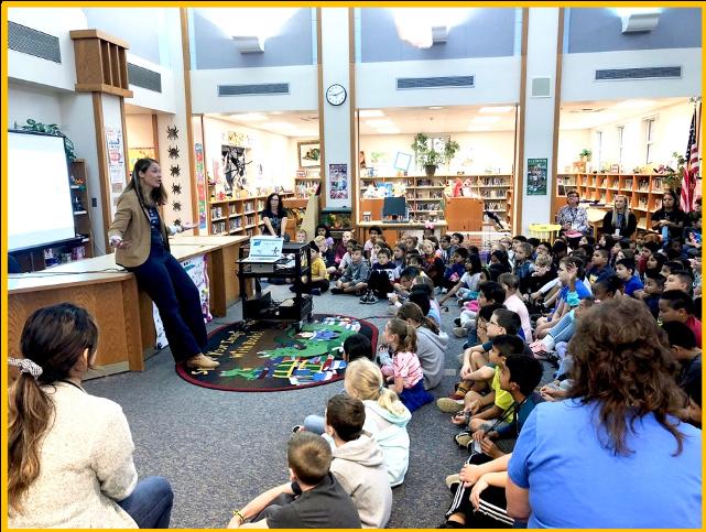 school visit in Naperville, IL
