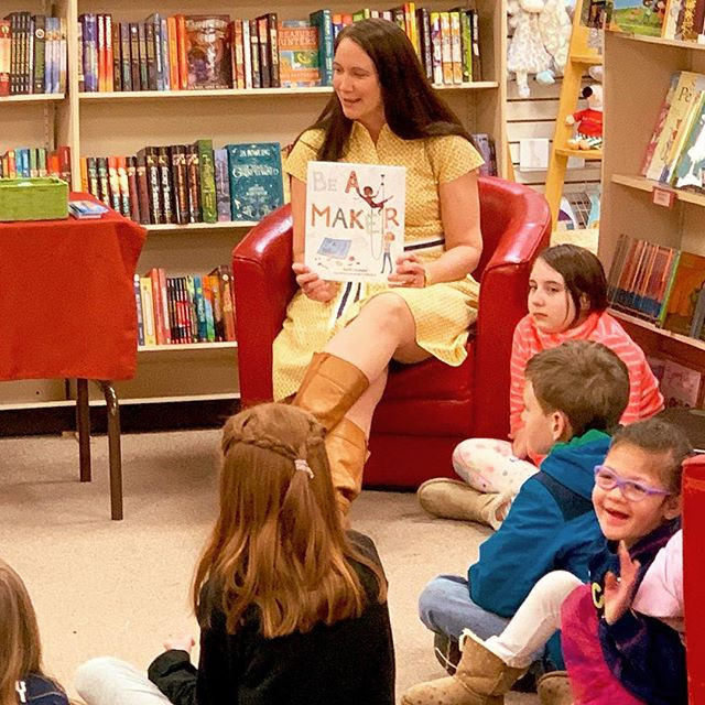 Story time at Newtown Bookshop!