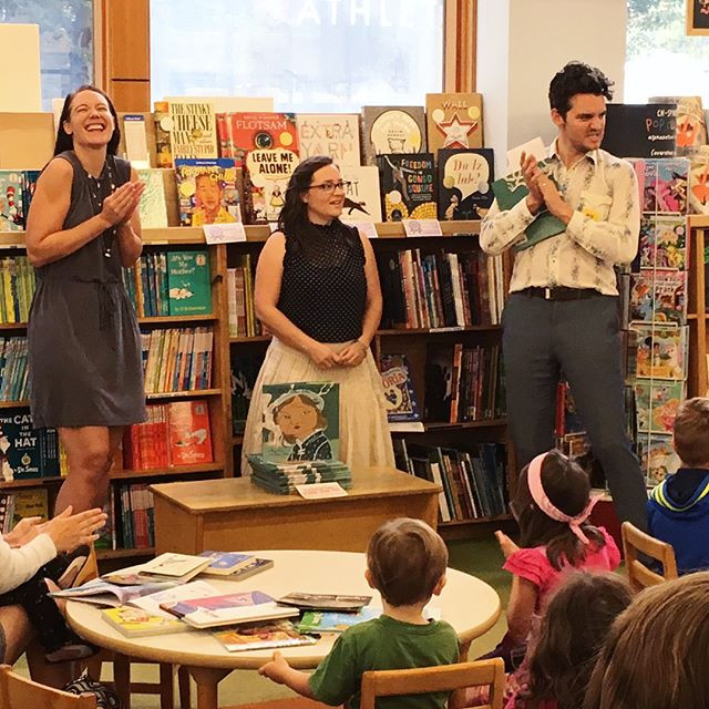 Super fun story time event at Powell's Books in Portland Oregon!