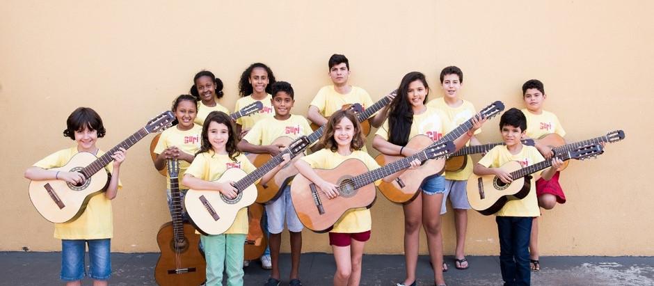 Projeto de música para crianças e adolescentes abre inscrições na região