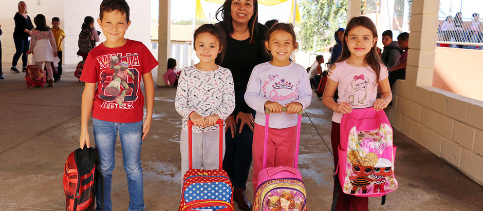 Mais de 2,3 mil alunos da Rede Municipal retornam às aulas a última quarta-feira