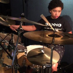 Danno, layin' down some Jazz chops for his Grade 8 exam...