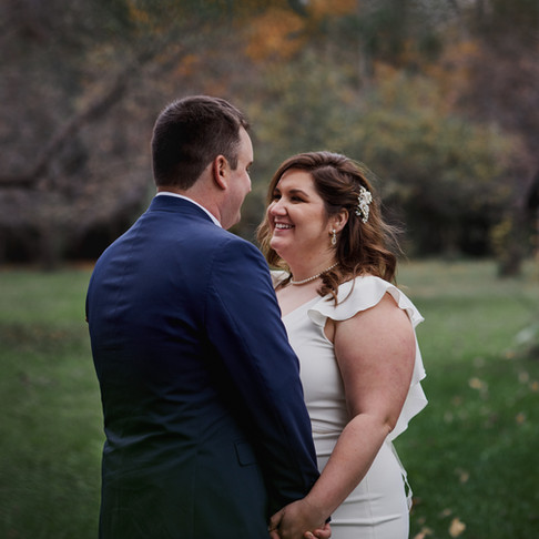 KRISTIE & LORNE'S RUSTIC ROMANTIC WEDDING