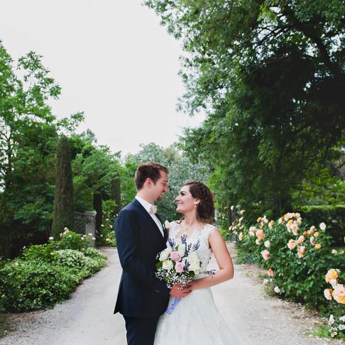 AURÉLIE & MATHIEU MARIÉS EN PROVENCE!