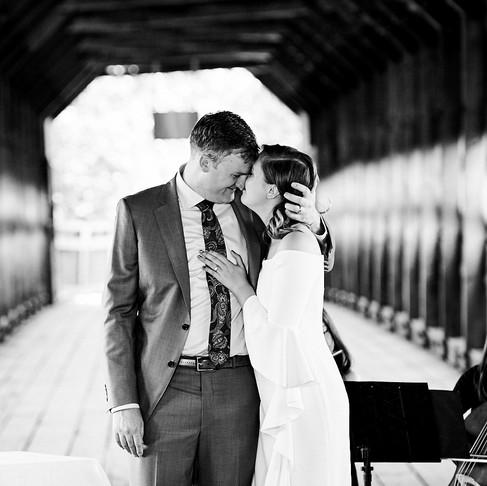VALÉRIE & BRENDAN'S INTIMATE WAKEFIELD WEDDING