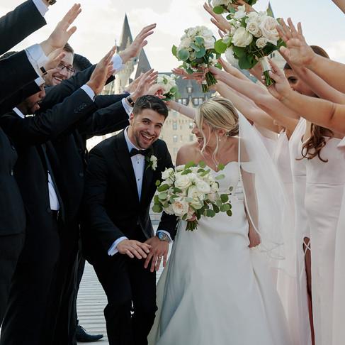 LORI & DAVE'S SUMMER WEDDING AT THE NAC