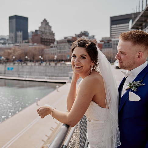 SARA & TODD'S SPRING WEDDING IN MONTREAL