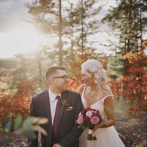 MELLISSA & RYAN'S FALL WEDDING AT LE BELVÉDÈRE