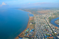 phan thiet bay from balloon