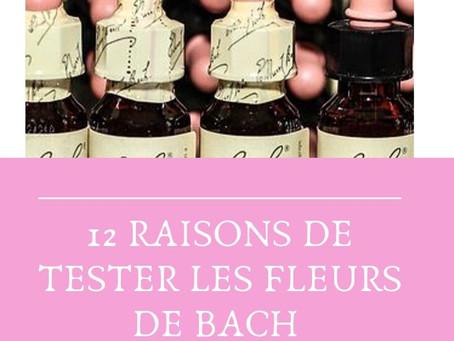 12 raisons de tester les Fleurs de Bach