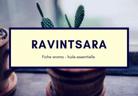 4 utilisations de l'Huile essentielle de RAVINTSARA