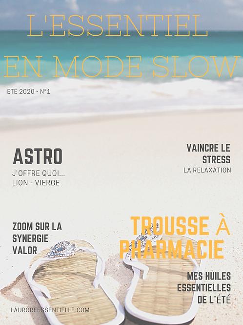 """Ebook Mag été 2020 """"L'essentiel en mode slow"""""""