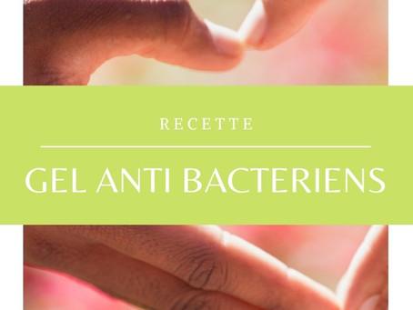 """Recette """"gel antibactérien"""""""