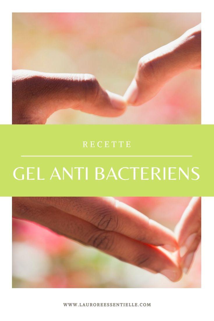 Recette de gel antibactérien