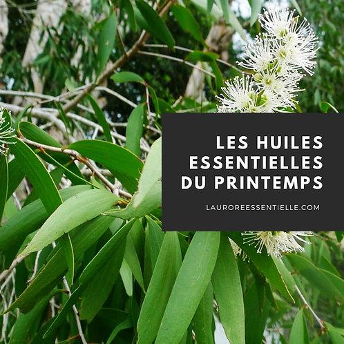 Ebook - les huiles essentielles du printemps