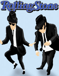 Rolling Stone Blues Brothers cover