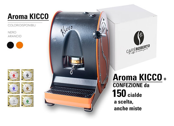 Macchina caffè Aroma KICCO+ 150 cialde