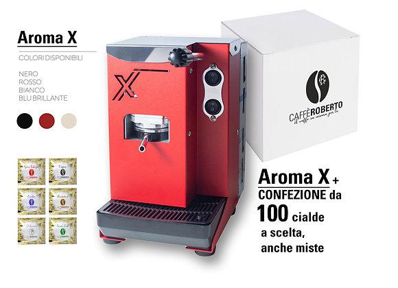 Copia di Macchina caffè Aroma X+ 100 cialde