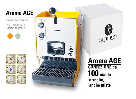 Macchina caffè Aroma AGE + 100 cialde