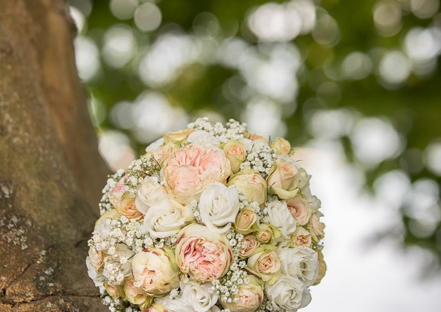 Blumenstrauss zur Hochzeit