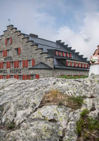 Hospiez Grimsel - Hochzeit