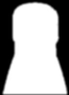 white bottle shilloutte