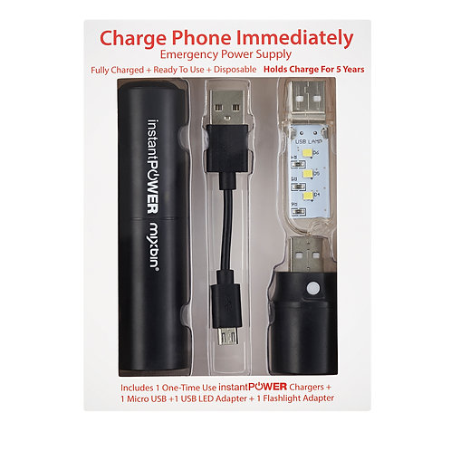 Emergency Kit - 1 Instant Power Unit