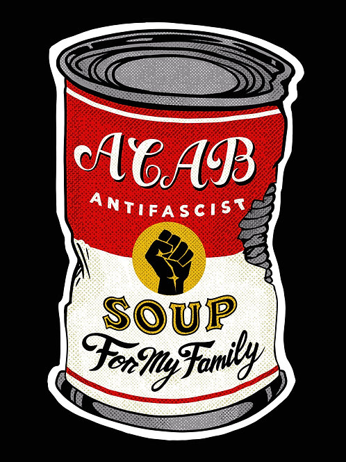 Soup can Stickers.