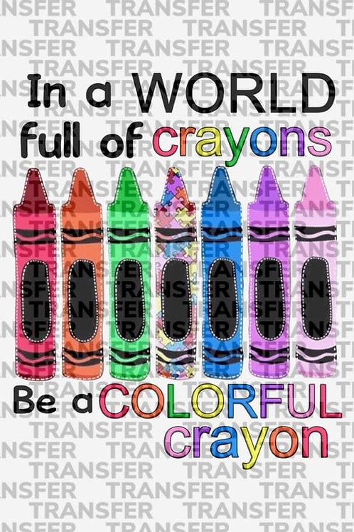 In a World full of Crayons