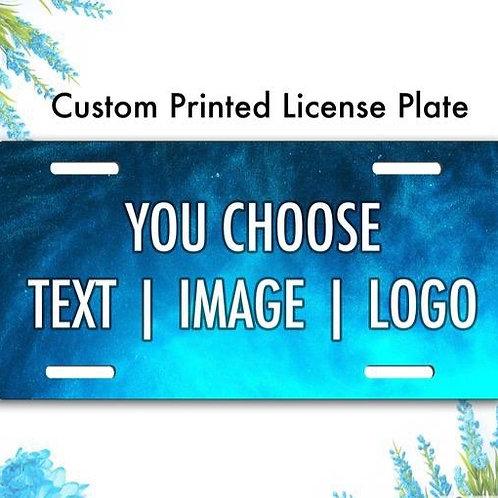 Custom License Plate/ Car Tag