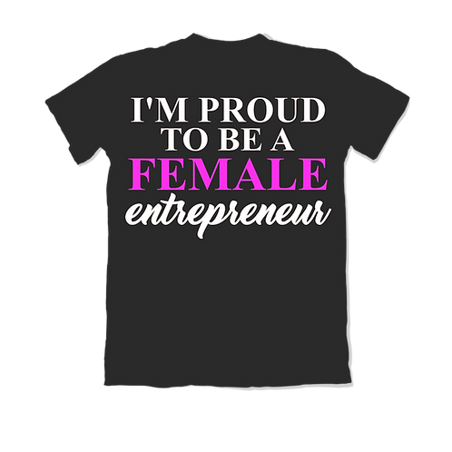 Proud Female Entrepreneur