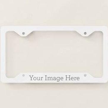Car Licence Plate Frames