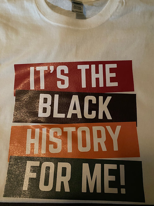 It's the Black History for Me!