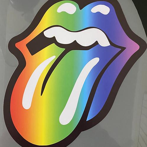 Rainbow Lips HTV