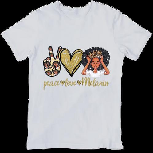 Peace Love Melanin HTV