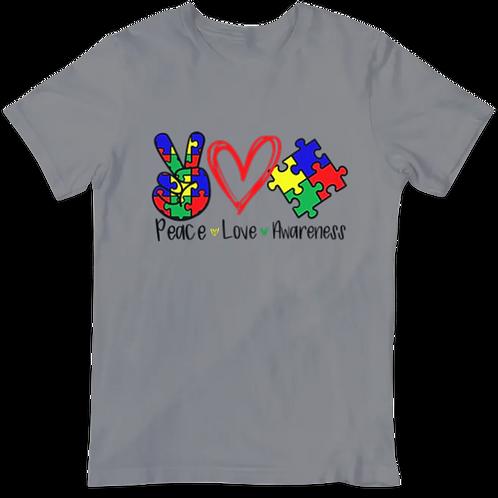 Peace Love Awareness Sub