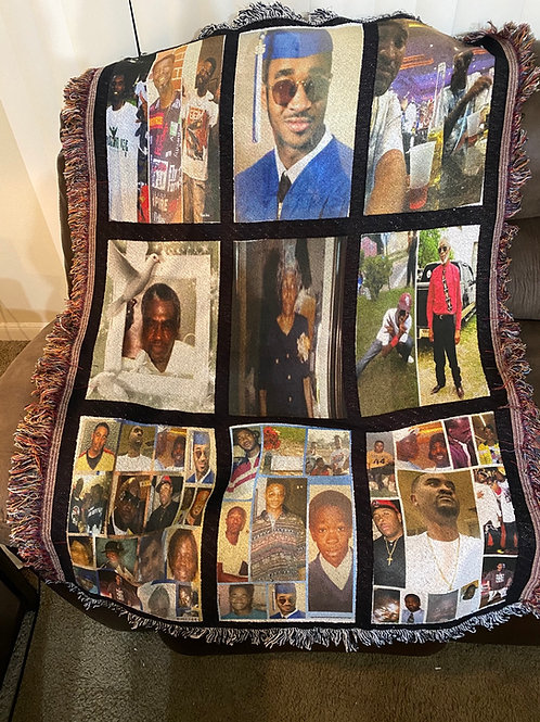 9 Panel Customize Blankets