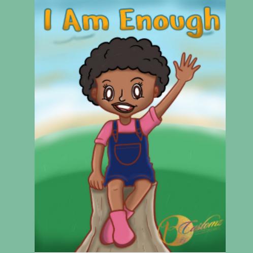 I Am Enough Coloring Book