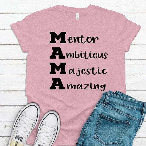 Characteristics of Mama