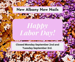 Closed September 2nd and 3rd for Labor Day!