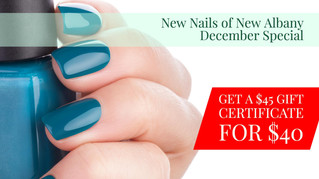 December Specials from New Nails