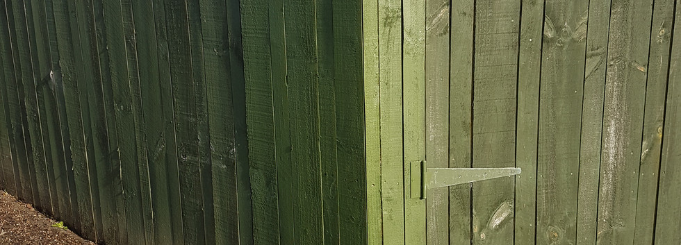 Fence patch up