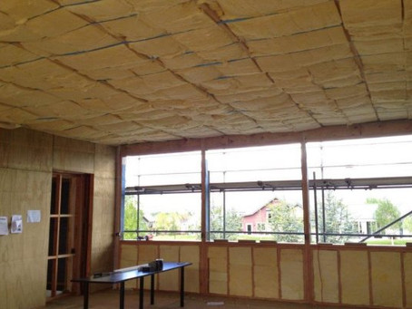 Floor, Ceiling and Wall insulation.