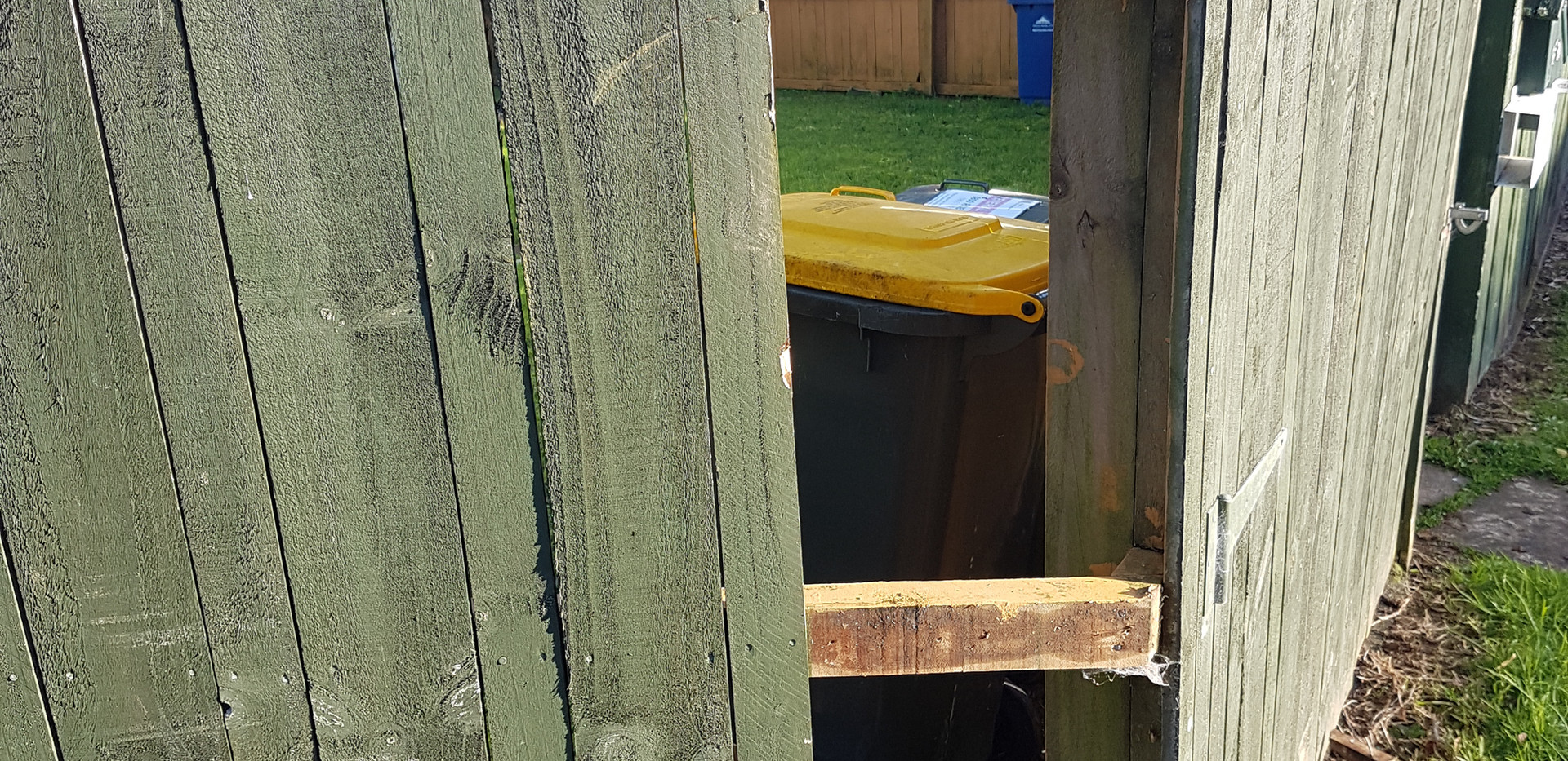 Fixing existing fence