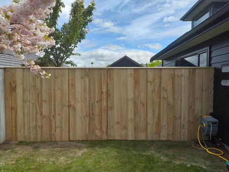 Adding a privacy fence