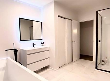 Modern stylish bathroom on Taharepa Road