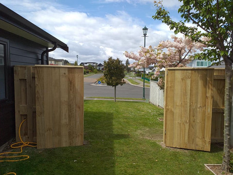 Custom gates made to size